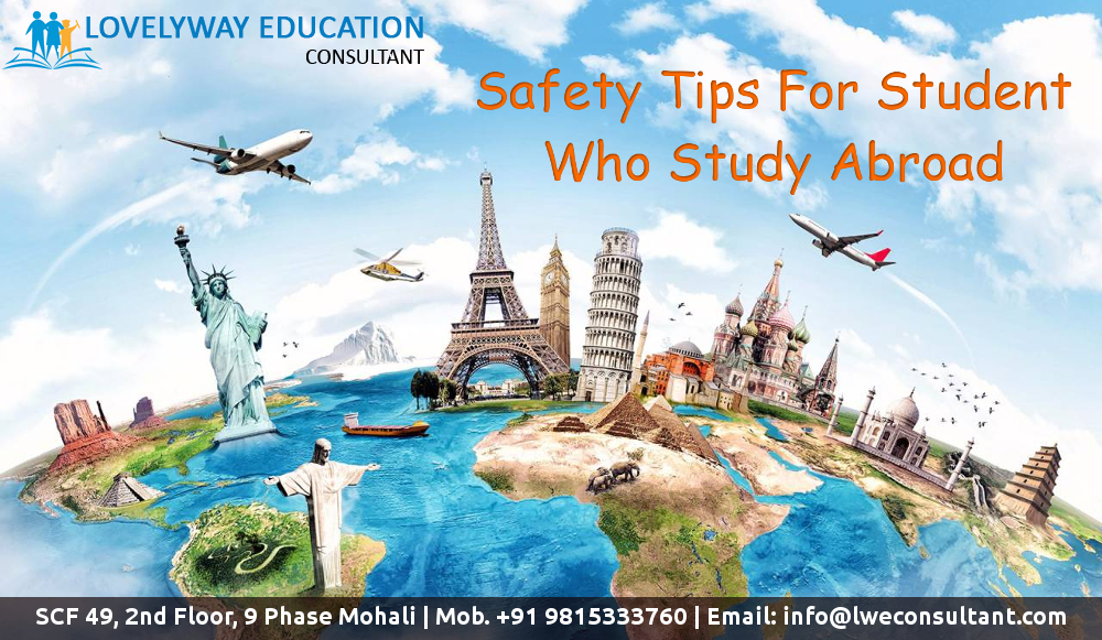 Safety Tips For Student Who Study Abroad